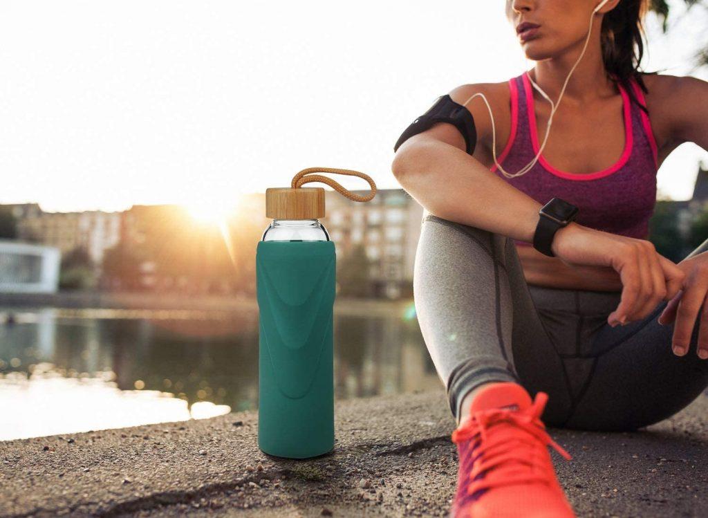 botella-agua-cristal-reutilizable