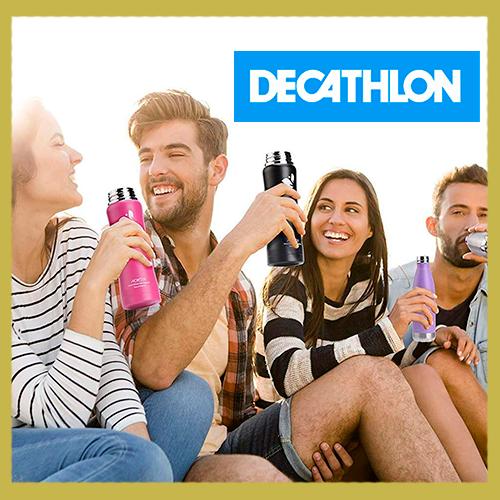 🥇 Mejores botellas de agua reutilizables Decathlon 【 2021 】♻️