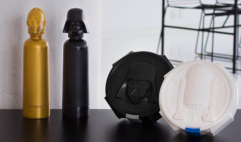 🤖 Las 3 mejores botellas de agua Star Wars 【 ofertas 2021 】